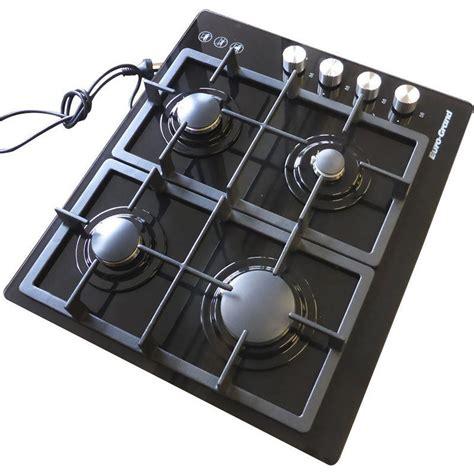 best cooktops 4 burner gas glass cook top in black buy gas