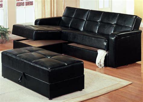 black storage chaise coaster kuser chaise storage sofa black 300166
