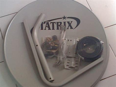 Harga Matrix Tv Parabola jual antena dish parabola mini matrix raffa parabola