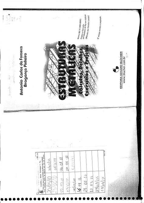 Livro de Estruturas Metálicas - Cálculos de Estruturas