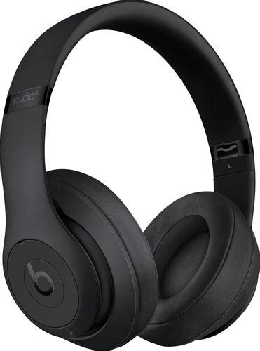 Beats By Dr Dre Studio Headphones Black Terbaru Dan Murah beats by dr dre beats studio3 wireless headphones black headphones 008 best buy