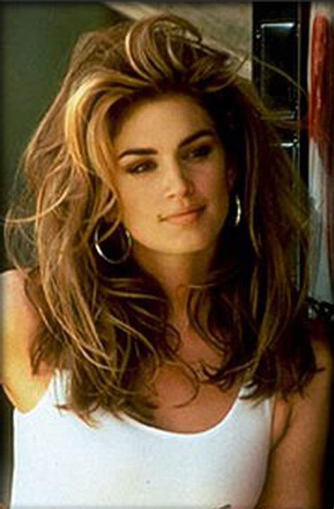 layered haircuts of the 90 cindy crawford cindy crawford pinterest cindy