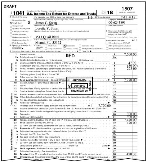 ir tax return 3 11 14 income tax returns for estates and trusts forms