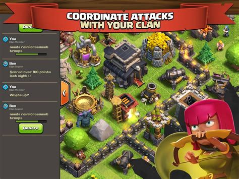 clash of clans for android new popular multiplayer strategy clash of clans invades the play store in search of
