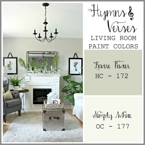 paint colors in my home hymns and verses