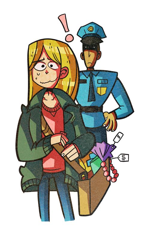 Shoplifting Criminal Record Offence Clipart Free Clip Free Clip