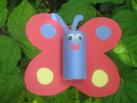 Paper Roll Crafts For Preschoolers - crafting animals from toilet paper rolls and