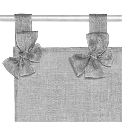 tende misto lino tenda misto lino con fiocchetti coincasa