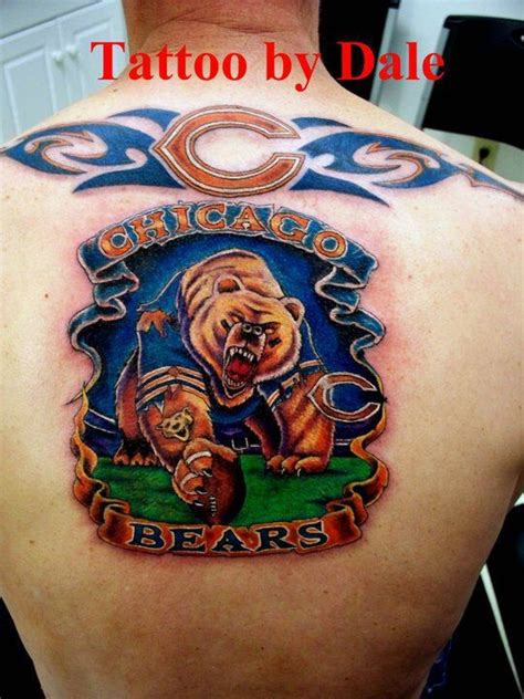chicago bears tattoo designs chicago bears da bears chicago