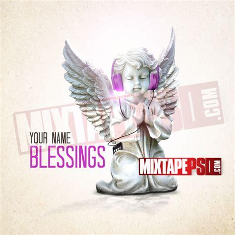 mixtape design templates mixtape template blessings mixtapepsd
