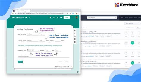 tutorial memasang google form  wordpress blog idwebhost