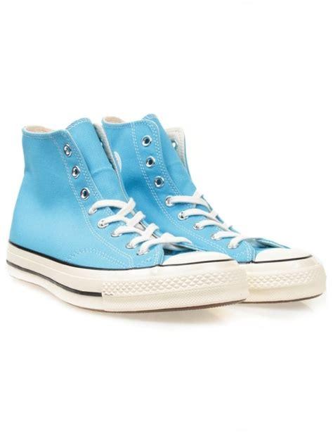 Converse Ghuck Hi Blue converse chuck 70s hi boots heritage blue