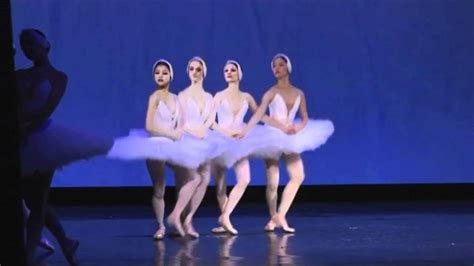 dance of the swans quot 2 act swan lake quot dance of the four little swans youtube