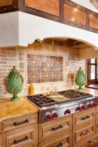 Kitchen Island Cooktop spanish style mediterranean kitchen other metro by
