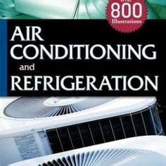 refrigeration  air conditioning book    mechanical   books