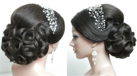 Wedding Hairstyles For Hair Step By Step bridal hairstyle for hair tutorial prom updo step by