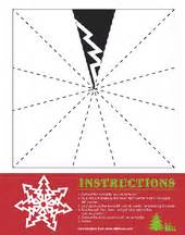 snowflake method template 4 ways to cut paper snowflakes wikihow