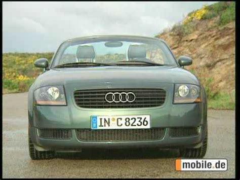 Mobile Audi Tt by Audi Tt 1998 2006 Gebrauchtwagen Check Mobile De