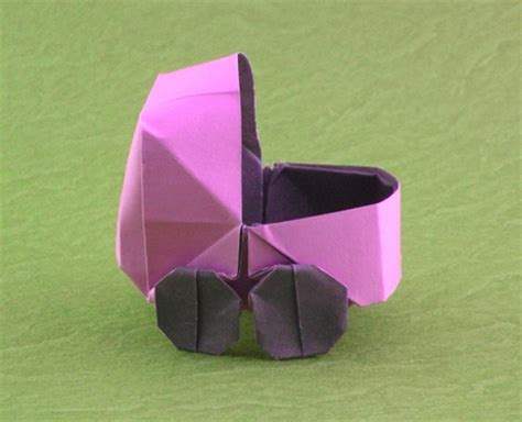 Origami Baby - origami vehicles gilad s origami page
