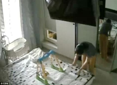 hidden cameras in bedrooms housemaid caught on camera stashing 163 4 000 of her russian