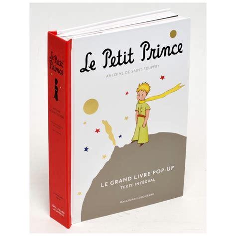 libro les petits livres les le petit prince grand livre pop up version fran 231 aise la boutique du petit prince