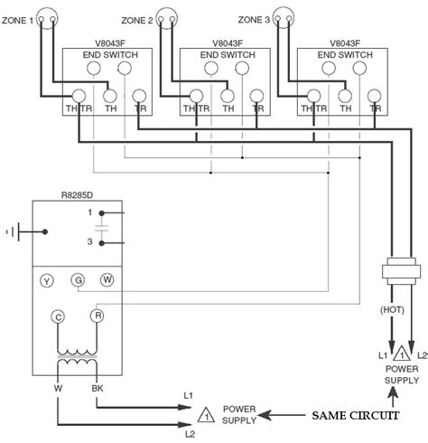motorised valve wiring diagram honeywell motorized valve wiring diagram efcaviation
