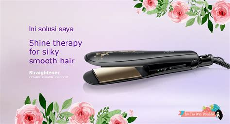 Catokan Philips Keratin philips kerashine straightener with keratin ion condition