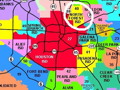 texas isd map state of texas to shut houston area school district