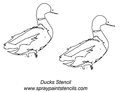 printable duck stencils oregon ducks page cake ideas and designs