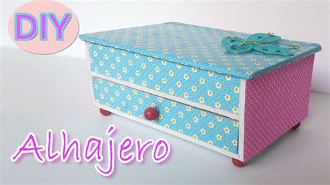 how do you make a jewelry box manualidades alhajero joyero manualidades para todos