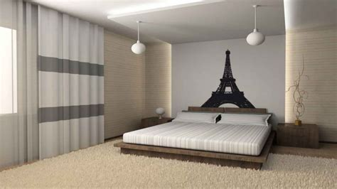 bedroom wall deco paris themed bedroom ideas black