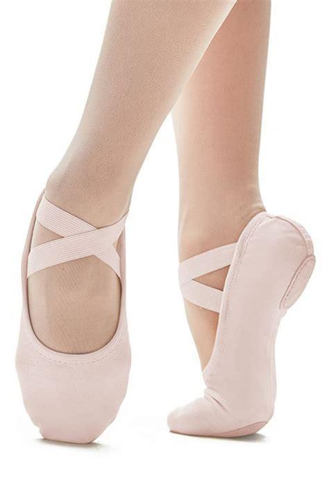 ballet shoe weston dancewear so danca pro canvas ballet shoe in pink