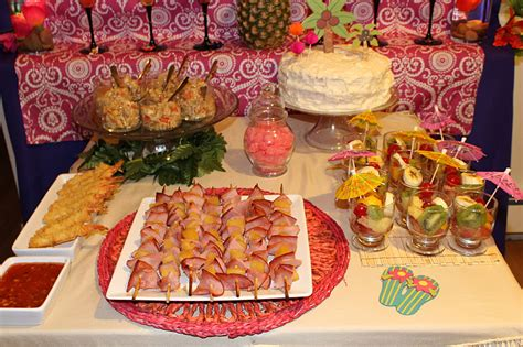 themed party recipes what you make it hawaiian party food recipes
