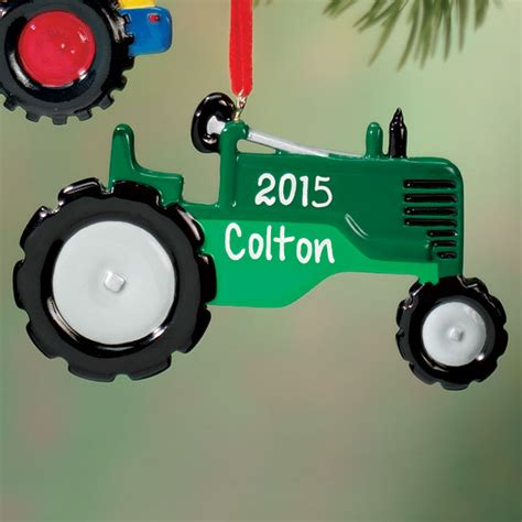 personalized tractor ornament tractor ornament miles