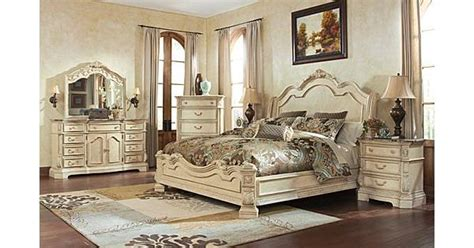 ortanique sleigh bedroom set the ortanique sleigh bedroom set from ashley furniture