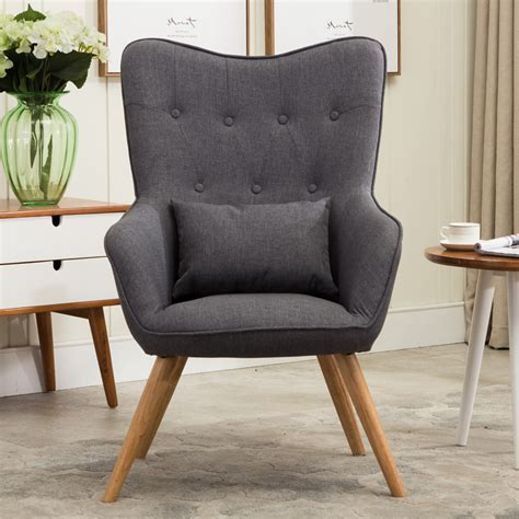 Aliexpress Com Buy Mid Century Modern Style Armchair Mid Century Modern Living Room Chairs