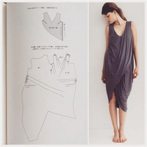 how to sew a draped dress 25 best ideas about japanese sewing patterns on pinterest