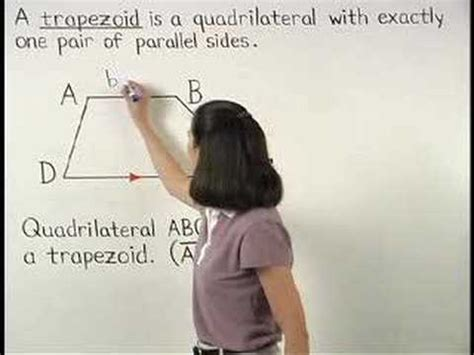 definition of a trapezoid mathhelp geometry help