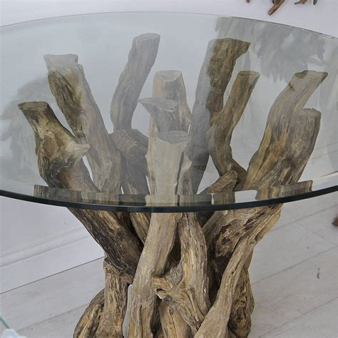 small driftwood dining table by miller