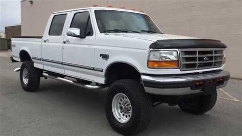WWW.DIESEL DEALS.COM 1996 F250 CREW CAB SHORT BED XLT 4X4