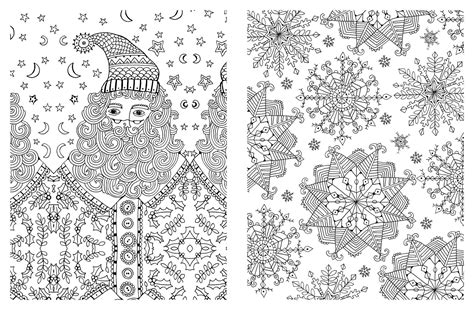 christmas adult coloring pages coloring home