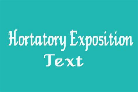 contoh hortatory exposition text bahasa inggris tentang