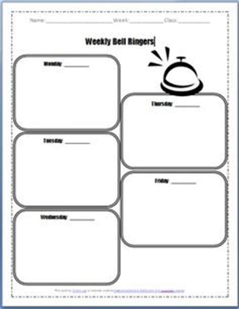 bellwork template 1000 images about teaching materials tpt on
