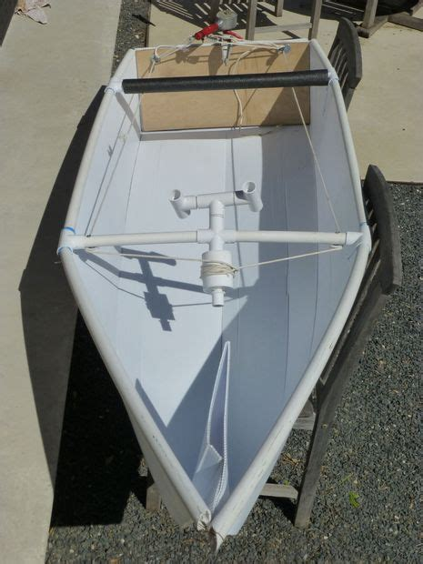 pvc rc boat trailer how to make a coroplast boat boating pvc pipe and pvc