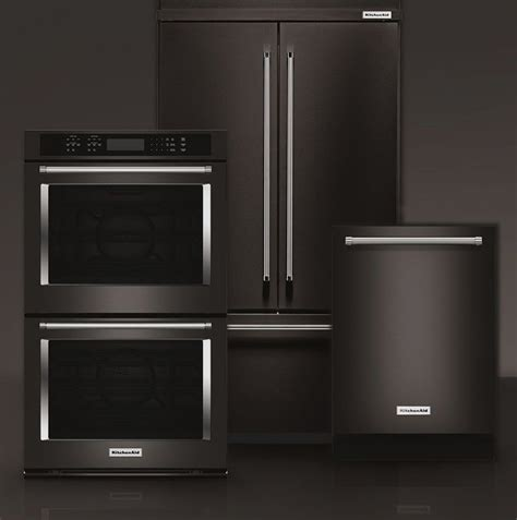black kitchen cabinets with stainless steel appliances best 25 black stainless steel ideas on