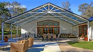 Gabled Pergola by Pergolas Of All Shapes And Sizes To Suit All Budgets Hi
