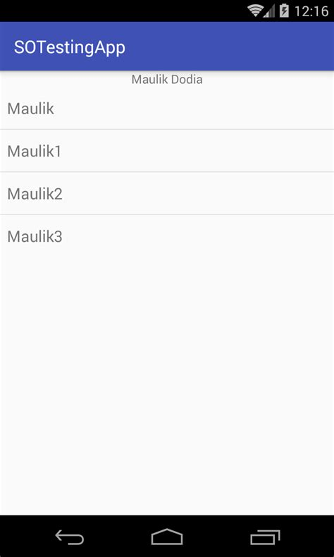 android layout xml string array android layout how to put textview on top of listview