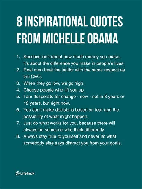 8 Inspirational Sayings 8 inspirational quotes from obama