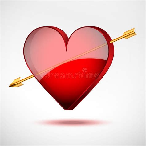 valentines day arrow background and arrow valentines day card stock
