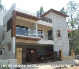How To Price A House House Construction Cost In Bangalore Find Residential